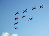 aerobatic formation poster