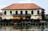 india, cochin: old portuguese architecture poster