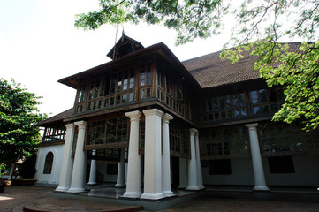 india, cochin: old dutch bolgatty palace