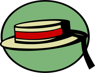 venetian gondolier hat