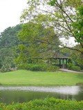 botanical garden - hidden pavilion poster