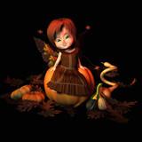 autumn sprite poster