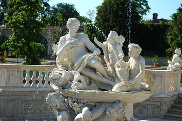 villa litta limbiate italy fountain