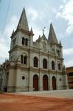 india, cochin: santa cruz cathedral poster