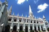 india, chennai: basilica of san thome poster