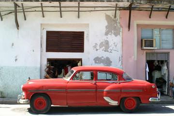 american car, cuba