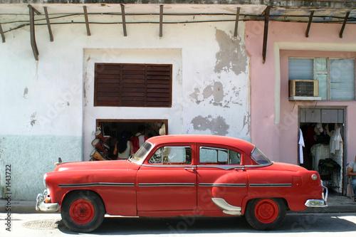 american car, cuba - 1443722