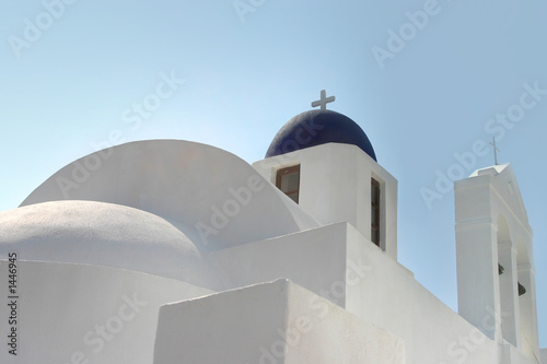 beautiful white church