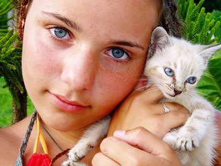 le bleu des yeux