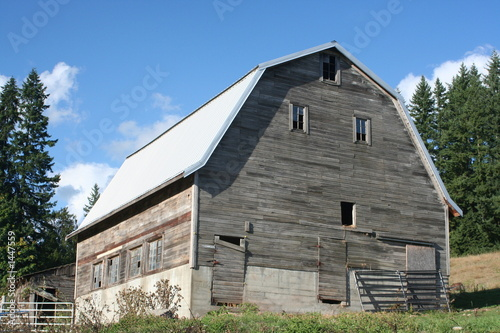 mountain barn