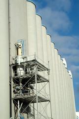 silo of cereals