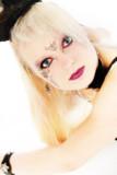 beautiful german goth teen girl poster