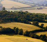 scenic landscape country countryside scenery hills poster