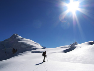 sunny climb