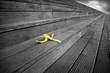Leinwanddruck Bild - peau de banane
