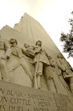 the alamo monument, san antonio, texas poster