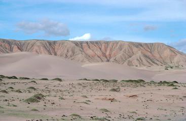 qinghai desert mountain