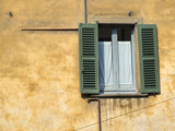 beautiful townscape detail in italy poster