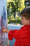 child artist poster