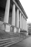 courthouse steps and pillars poster