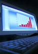 écran, analyse financière