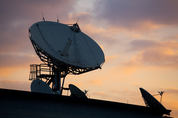 satellite dishes on roof 1