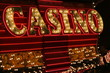 bright casino sign