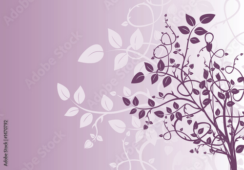 purple background illustration