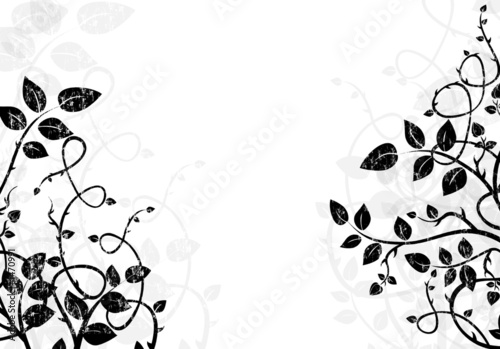 black and white background illustration