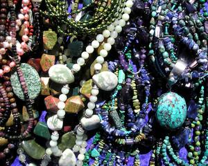 gemstone bead jewelry