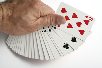 playing cards tricks focuses
