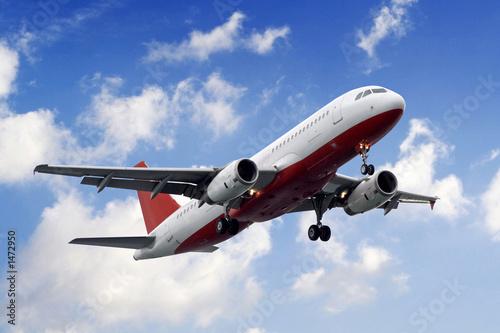Poster aeroplane
