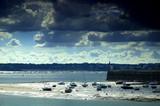 bateaux à marée basse poster