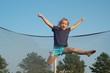 jump and cheer