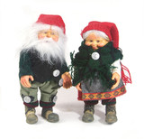santa claus and his wife poster