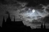 full moon over transilvania poster