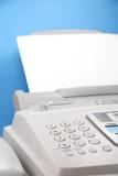 fax machine poster
