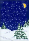 christmas greeting card - 2 poster