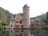 fairy tale-like castle in germany poster