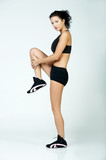 fitness lady poster