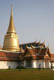 royal palace in bangkok, thailand poster