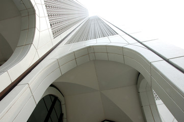 arches of a modern building