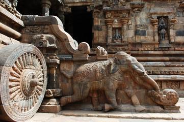 india, south-india: darasuram temple