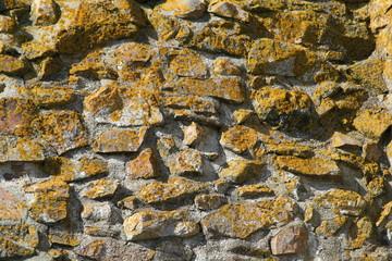 ruins wall