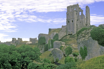 ruins of corfe castle 1