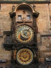 big tower clocks in prague