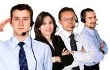 business customer service team poster
