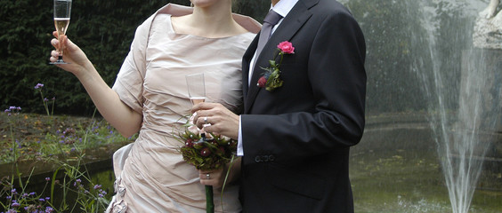 bride and groom / braut und bräutigam