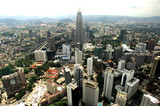 malaysia, kuala lumpur: nice view of the city poster