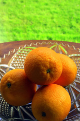 four oranges